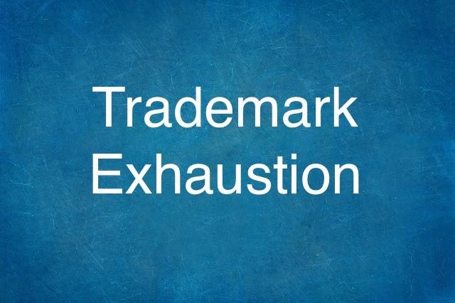 Trademark-Exhaustion